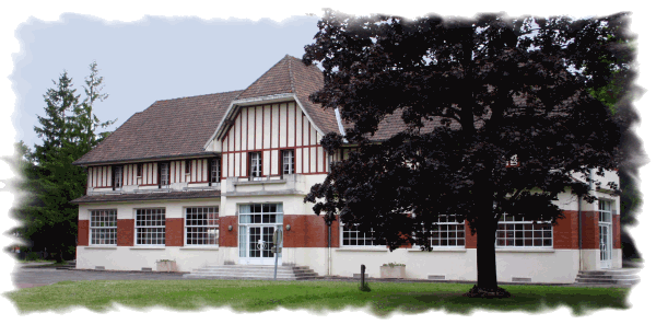 Le bâtiment qui abrite le club